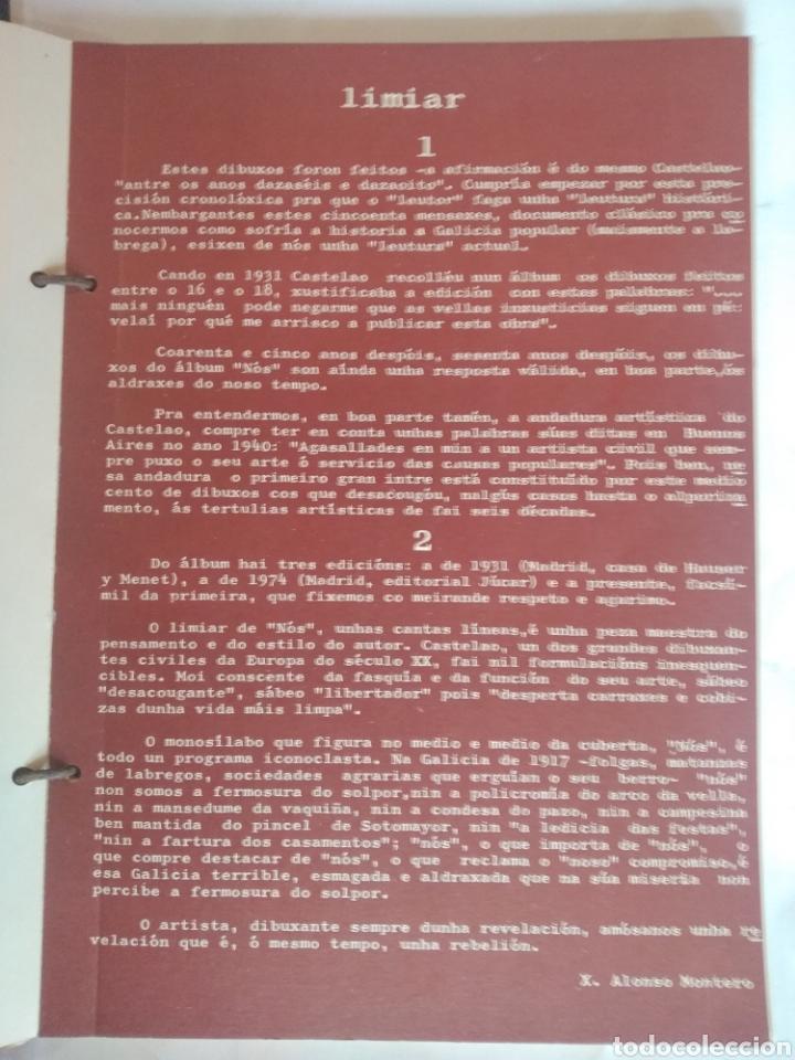 Libros de segunda mano: CASTELAO. Nós. Edición facsímil 1975. Akal - Foto 3 - 223085083
