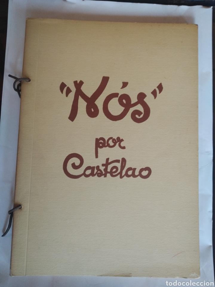 CASTELAO. NÓS. EDICIÓN FACSÍMIL 1975. AKAL (Libros de Segunda Mano - Bellas artes, ocio y coleccionismo - Pintura)