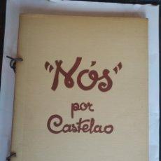 Libros de segunda mano: CASTELAO. NÓS. EDICIÓN FACSÍMIL 1975. AKAL. Lote 223085083
