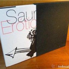 Libros de segunda mano: LIBRO SAURA ERÓTICA OBRAS Y TEXTOS DE ANTONIO SAURA 2007 NUEVO Y PRECINTADO. Lote 223845391