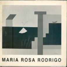 Libros de segunda mano: NUMULITE L0280 MARIA ROSA RODRIGO HANS HERBERT DREISKE JORDI BAS NACIA EN REUS ARTE PINTURA CUBISMO. Lote 223944943