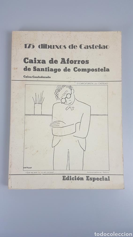 175 DIBUXOS DE CASTELAO. PRIMERA EDICIÓN 1976. EDICIÓN ESPECIAL NUMERADA 7743. (Libros de Segunda Mano - Bellas artes, ocio y coleccionismo - Pintura)