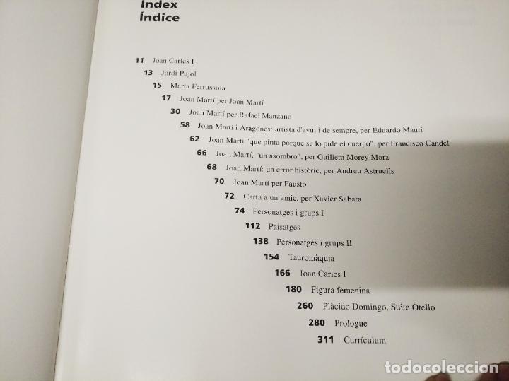 Libros de segunda mano: JOAN MARTÍ. OBRES . ART 85 . 1ª EDICIÓN 1994. DIBUJO ,DEDICATORIA Y FIRMA ORIGINAL DE JOAN MARTÍ - Foto 6 - 224126688