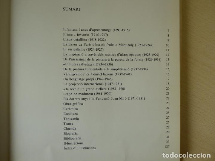 Libros de segunda mano: Joan Miró, per Rosa Maria Malet - Edicions Polígrafa 1983, 128 pàgines - Foto 5 - 224140355