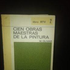 Livros em segunda mão: CIEN OBRAS MAESTRAS DE LA PINTURA. Lote 224621927