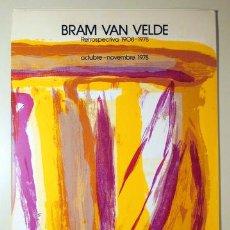 Libros de segunda mano: VAN VELDE, BRAM - ANTONIO SAURA - BRAM VAN VELDE. RETROSPECTIVA 1908-1978 - BARCELONA 1978 - MUY ILU. Lote 224859418