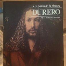 Libros de segunda mano: DURERO– LOS GENIOS DE LA PINTURA EDIT. SARPE. Lote 225033426