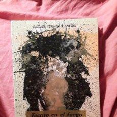 Livros em segunda mão: ESCRITO EN EL FUEGO, DE CESAR MANRIQUE. CANARIAS. EXCELENTE ESTADO. Lote 225069417