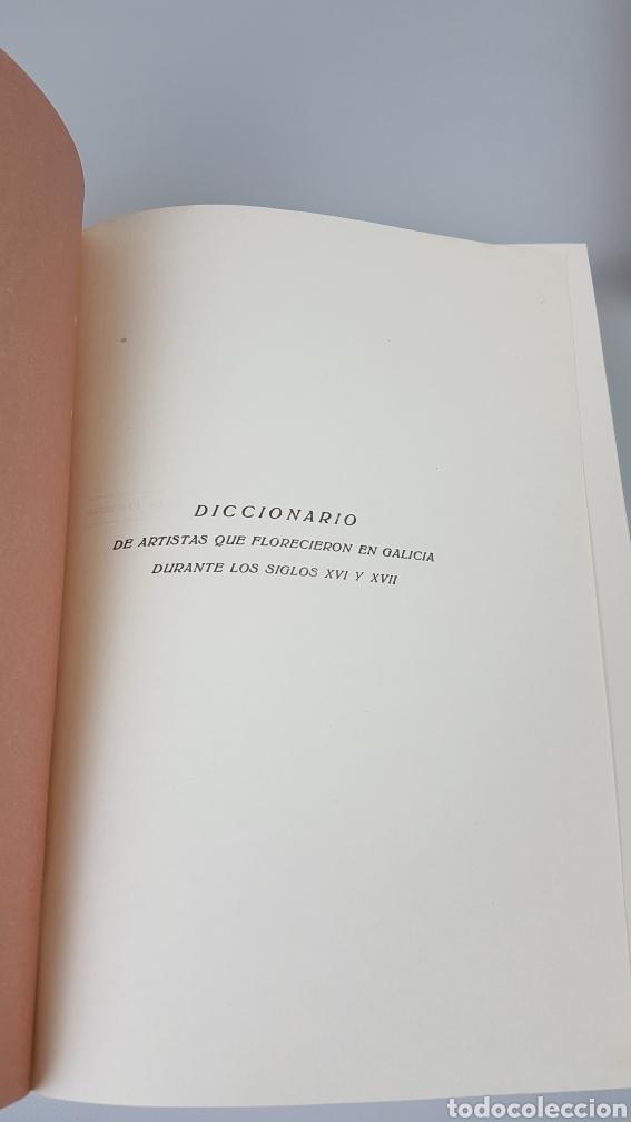 Libros de segunda mano: DICCIONARIO DE ARTISTAS QUE FLORECIERON EN GALICIA DURANTE LOS S. XVI y XVII Pablo Pérez Costanti - Foto 5 - 225197060