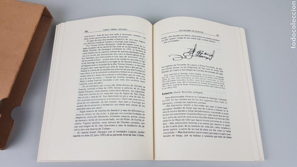 Libros de segunda mano: DICCIONARIO DE ARTISTAS QUE FLORECIERON EN GALICIA DURANTE LOS S. XVI y XVII Pablo Pérez Costanti - Foto 11 - 225197060