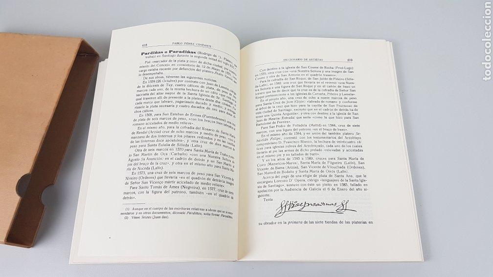 Libros de segunda mano: DICCIONARIO DE ARTISTAS QUE FLORECIERON EN GALICIA DURANTE LOS S. XVI y XVII Pablo Pérez Costanti - Foto 12 - 225197060