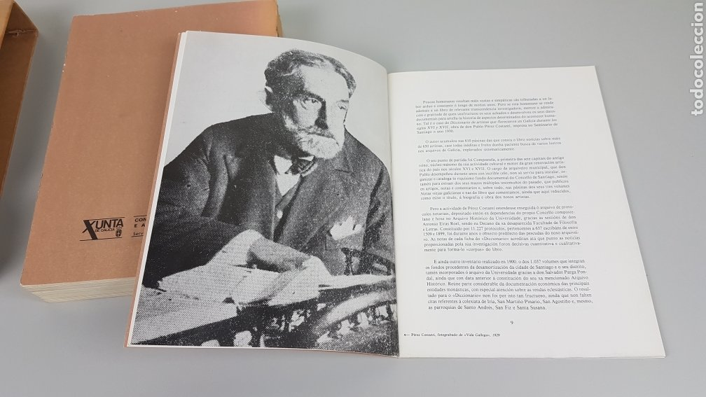 Libros de segunda mano: DICCIONARIO DE ARTISTAS QUE FLORECIERON EN GALICIA DURANTE LOS S. XVI y XVII Pablo Pérez Costanti - Foto 15 - 225197060