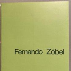 Livros em segunda mão: FERNANDO ZÓBEL. LAS ORILLAS. VARIACIONES SOBRE UN RÍO. EJEMPLAR FIRMADO POR EL ARTISTA. Lote 225537700