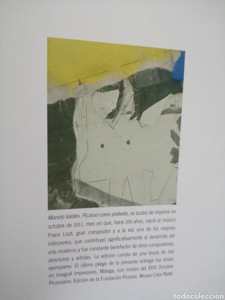 Libros de segunda mano: Manolo Valdes. Picasso como pretexto. - Foto 11 - 226244440