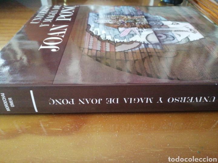 Libros de segunda mano: Universo y Magia de Joan Ponc. Mordechai Omer. - Foto 2 - 226247955