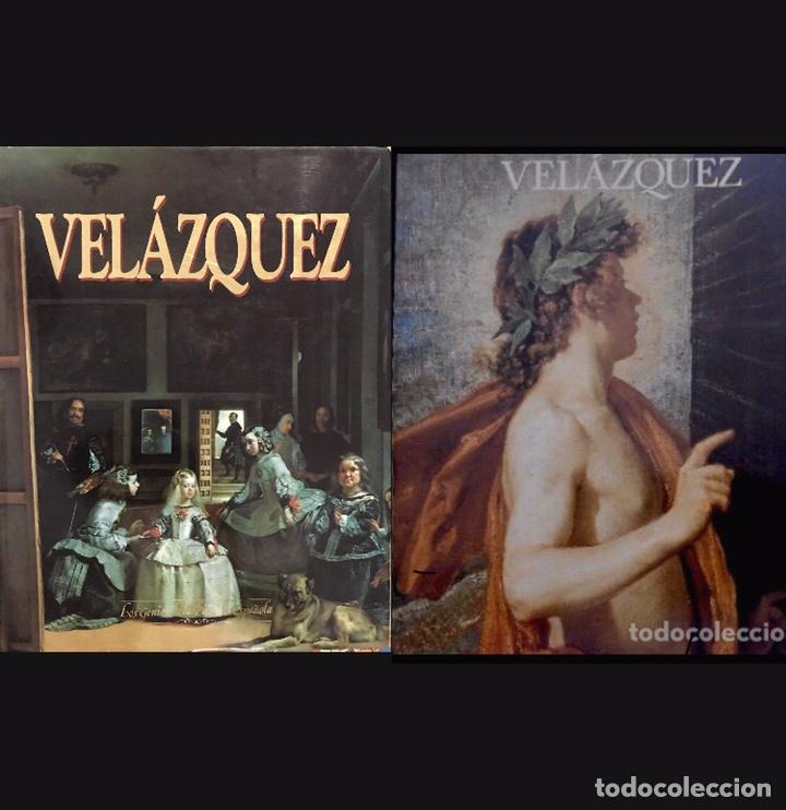 LOTE 2 CATALOGOS VELAZQUEZ - EXPOSICION MUSEO DEL PRADO Y LOS GENIOS DE LA PINTURA ESPAÑOLA 1990 (Libros de Segunda Mano - Bellas artes, ocio y coleccionismo - Pintura)