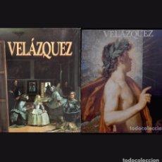 Libros de segunda mano: LOTE 2 CATALOGOS VELAZQUEZ - EXPOSICION MUSEO DEL PRADO Y LOS GENIOS DE LA PINTURA ESPAÑOLA 1990. Lote 190102067