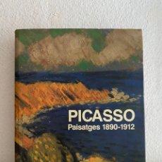 Libros de segunda mano: PICASSO. PAISATGES 1890 - 1912. MARIA TERESA OCAÑA - 1994. Lote 228351975