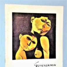 Libros de segunda mano: GUAYASAMIN. GALERÍA BIOSCA (CATÁLOGO DEDICADO). Lote 228792010
