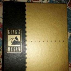 Libros de segunda mano: THE POSTER CATALOGUE KING & MCGAW. Lote 229413305