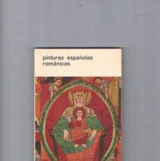 Libros de segunda mano: PINTURAS ESPAÑOLAS ROMANICAS UNESCO RAUTER BOLSILIBROS DE ARTE 1962. Lote 230085930