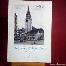 Libros de segunda mano: BERNARD BUFFET - PARIS - GUSTAVO GILI -COL. MINIA º 32 - CON MUCHAS ILUSTRACIONES A TODO COLOR. Lote 230164430