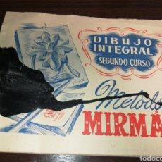 Libros de segunda mano: LIBRO DIBUJO INTEGRAL 1955, LAMINAS, MANCHA DE TINTA, NO AFECTA A LÁMINAS, 26 LÁMINAS. Lote 230296975