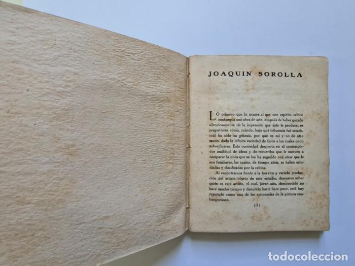 Libros de segunda mano: MONOGRAFÍAS DE ARTE nº 4 JOAQUÍN SOROLLA - Foto 3 - 231363990