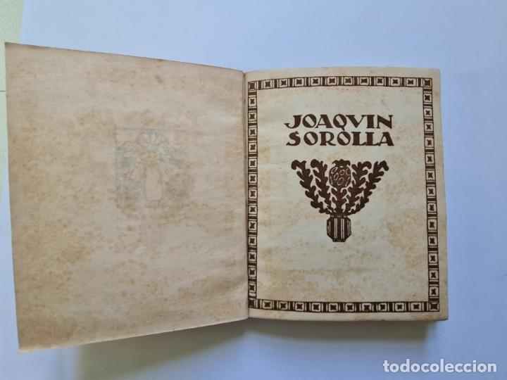 Libros de segunda mano: MONOGRAFÍAS DE ARTE nº 4 JOAQUÍN SOROLLA - Foto 5 - 231363990
