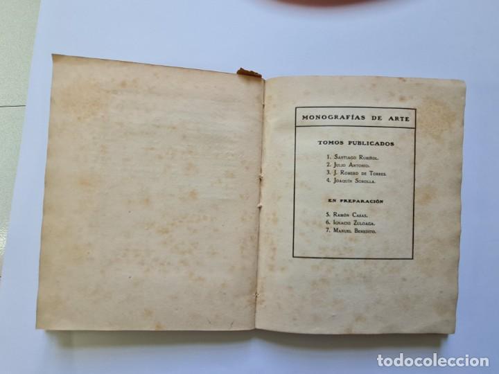 Libros de segunda mano: MONOGRAFÍAS DE ARTE nº 4 JOAQUÍN SOROLLA - Foto 6 - 231363990