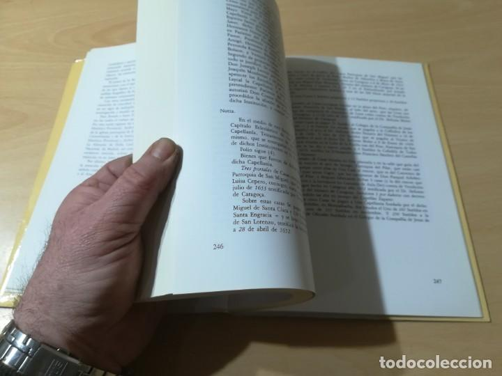 Libros de segunda mano: JUSEPE MARTINEZ 1600 -1682 / VICENTE GONZALEZ - CAMON AZNAR, ZARAGOZA / / AC105 - Foto 12 - 231675240