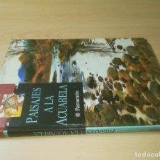 Libros de segunda mano: PAISAJES A LA ACUARELA / / PARRAMON / ESQ115. Lote 231721590