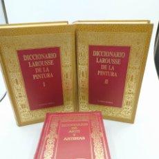 Libros de segunda mano: DICCIONARIO LAROUSSE DE LA PINTURA 1 Y 2 Y DICCIONARIO DE ARTE Y ARTISTAS PLANETA AGOSTINI. Lote 232296085