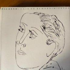 Libros de segunda mano: PICASSO- CAJA DE REMORDIMIENTOS (ESPAÑOL) TAPA BLANDA. Lote 233018855