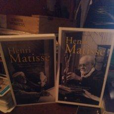 Livros em segunda mão: HENRY MATISSE. ENTREVISTA CON PIERRE COURTHION 1941. EDITORIAL CONFLUENCIAS 2016. Lote 233049190