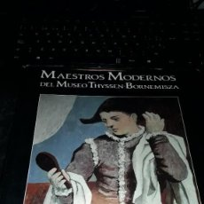 Libros de segunda mano: MAESTROS MODERNOS DEL MUSEO THYSSEN-BORNEMISZA. J. ALVAREZ LOPERA. EDICION LUNWERG DE 1992. Lote 233564030