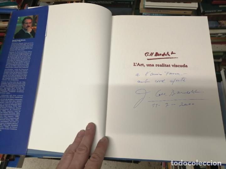 Libros de segunda mano: COLL BARDOLET. DEDICATÒRIA I FIRMA ORIGINAL BARDOLET. L ART , UNA REALITAT VISCUDA. . MALLORCA. - Foto 4 - 233766690