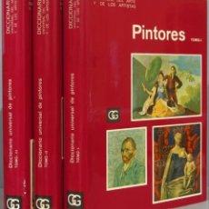 Libros de segunda mano: DICCIONARIO UNIVERSAL DE PINTORES. CIRLOT. 3 TOMOS. Lote 234167185