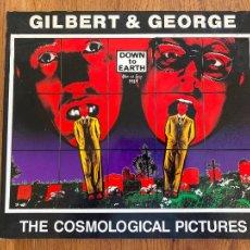 Libros de segunda mano: THE COSMOLOGICAL PICTURES , GILBERT & GEORGE - FUNDACIÓ JOAN MIRO - TAMAÑO 30X34 CM. Lote 234812225