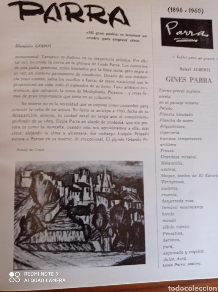 Libros de segunda mano: GINÉS PARRA CUADERNOS DE ARTE ALMERÍA 1980 - Foto 5 - 234822510