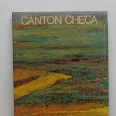 Libros de segunda mano: LIBRO CANTÓN CHECA. Lote 234979710
