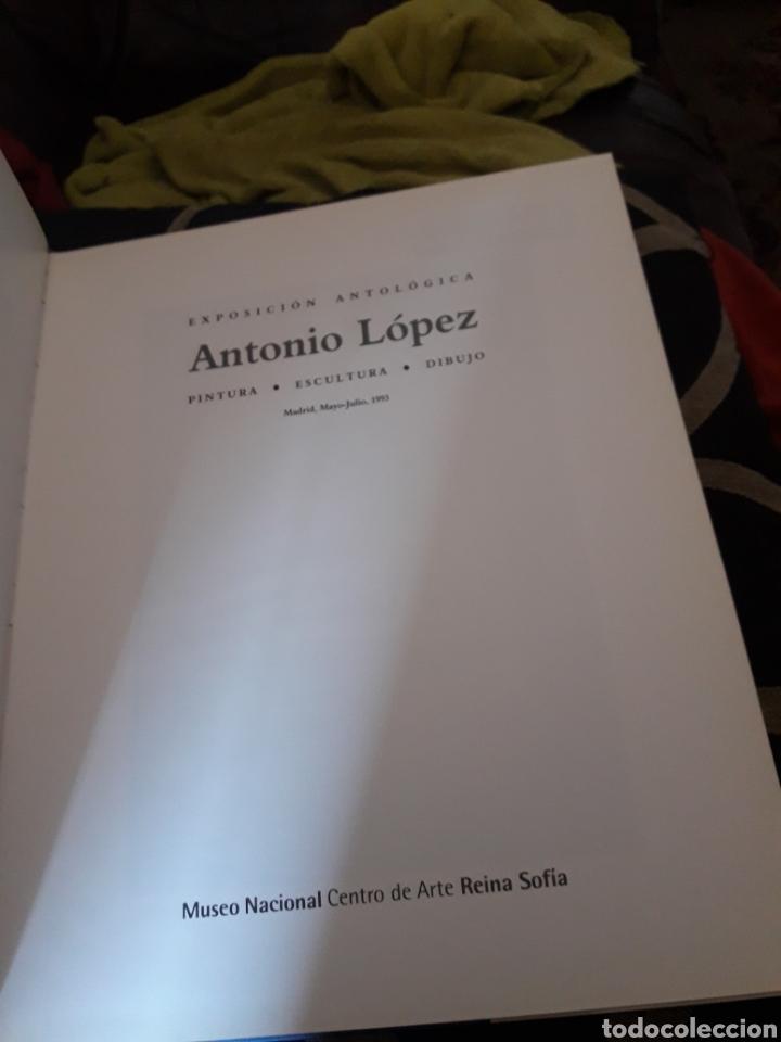 Libros de segunda mano: Antonio López, Exposición Antología - Foto 2 - 235262920