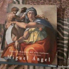 Libros de segunda mano: LIBRO DE MIGUEL ÁNGEL. GABRIEL BARTZ/EBERHARD KONIG. EDICION ULLMANN DE 2007.. Lote 235823655