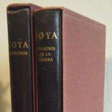 Libros de segunda mano: SANCHEZ CANTON.- GOYA. LOS CAPRICHOS (1949). Lote 235860120