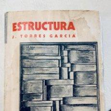Libros de segunda mano: JOAQUIN TORRES GARCIA ESTRUCTURA ALFAR 1935. Lote 236268980