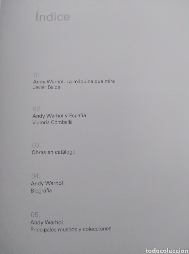 Libros de segunda mano: Andy Warhol. La máquina que mira. - Foto 2 - 236343435