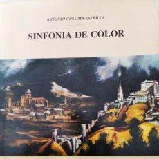 """Libros de segunda mano: """"EL GRECO"""" MUSEO DE RÉPLICAS DE YECLA (MURCIA). SINFONIA DE COLOR. ANTONIO COLOMA ZAFRILLA. 1988. Lote 236385270"""