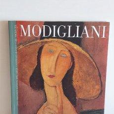 Libros de segunda mano: MODIGLIANI / LOS GRANDES GENIOS DEL ARTE CONTEMPORÁNEO. EL SIGLO XX / 6 / NUEVO. Lote 236733275
