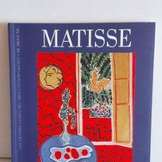 Libros de segunda mano: MATISSE / LOS GRANDES GENIOS DEL ARTE CONTEMPORÁNEO. EL SIGLO XX / 9 / NUEVO. Lote 236733665