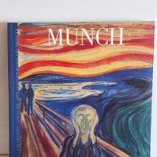 Libros de segunda mano: MUNCH / LOS GRANDES GENIOS DEL ARTE CONTEMPORÁNEO. EL SIGLO XX / 11 / NUEVO. Lote 236733900